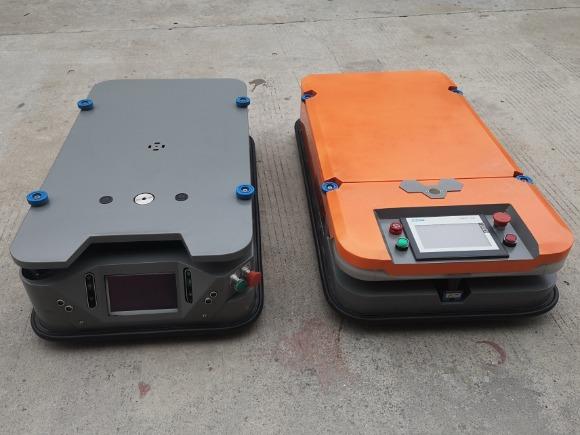 平板式AGV无人搬运车的应用