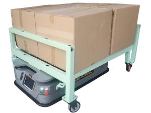 牵引式agv搬运机器人
