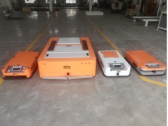 磁导航AGV小车的应用