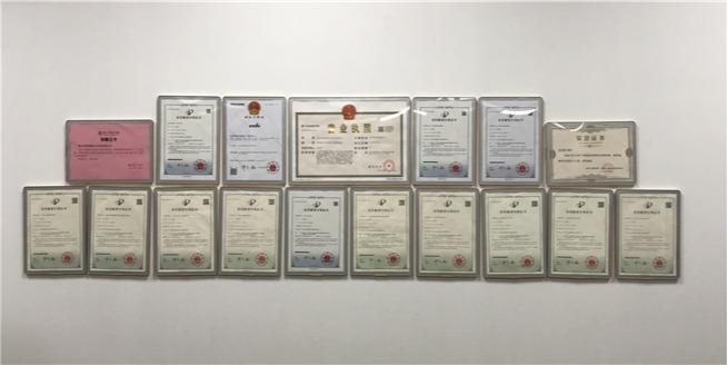 米海AGV机器人的企业荣誉