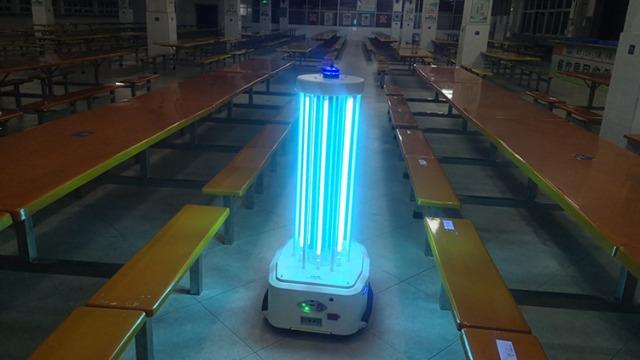 消毒机器人是高效而快速的消毒方案