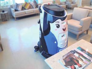 UVC消毒机器人