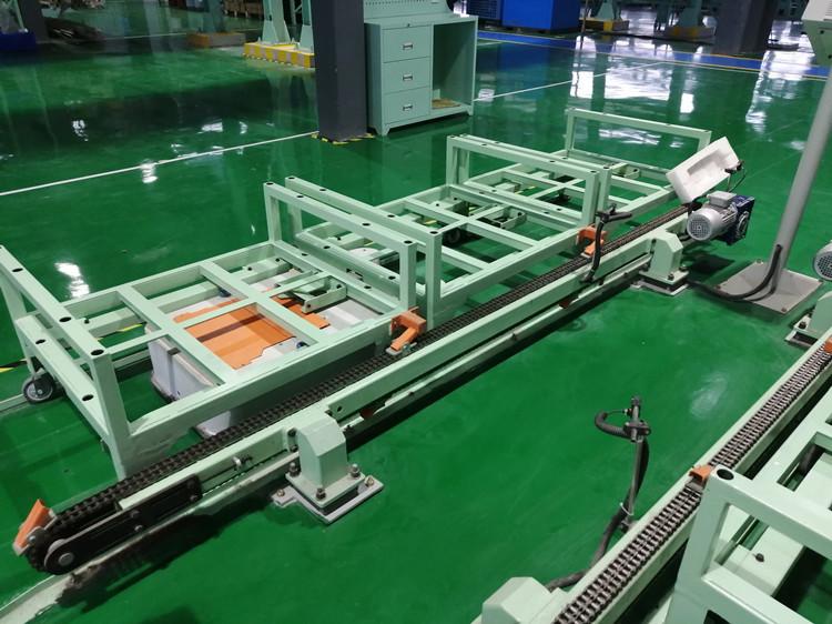 碧桂园智能工厂AGV