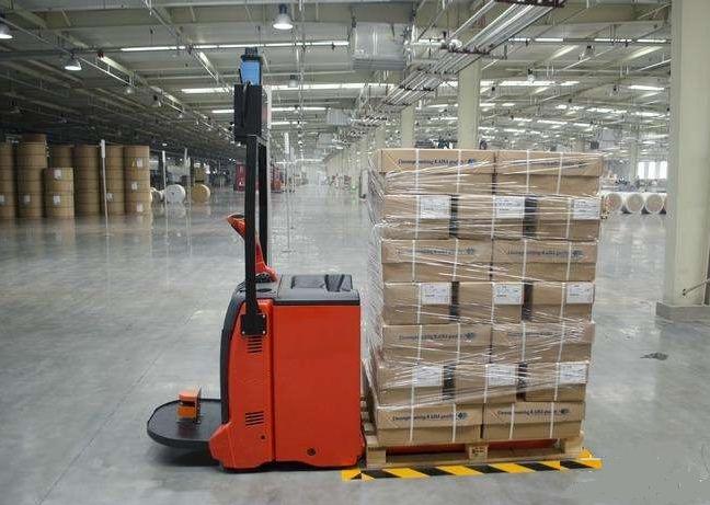 AGV在印刷造纸厂的应用