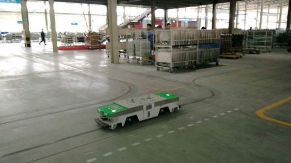 agv搬运车在空调行业的应用