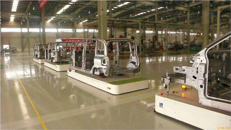 agv工业机器人在在汽车制造业的应用