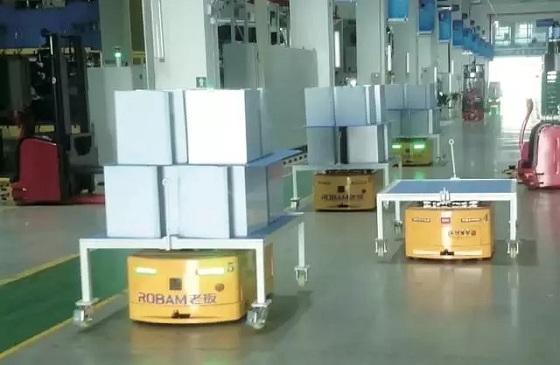 AGV家电行业应用